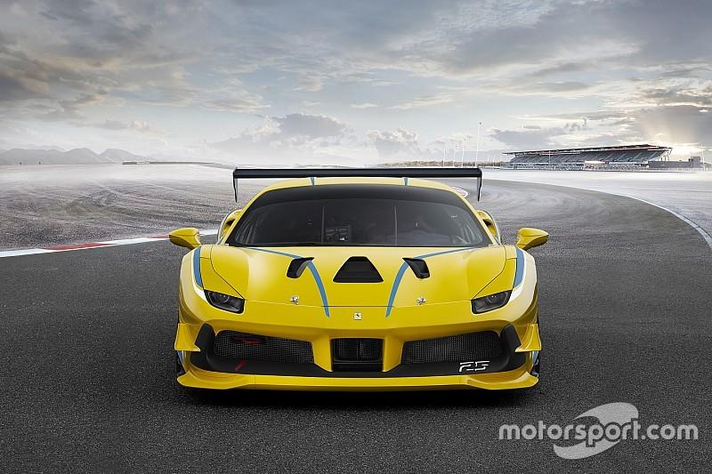 Ferrari reveals turbocharged 488 Challenge car for 2017