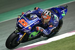 MotoGP Antrenman raporu Katar MotoGP: 3. antrenmanda Vinales tekrar zirvede
