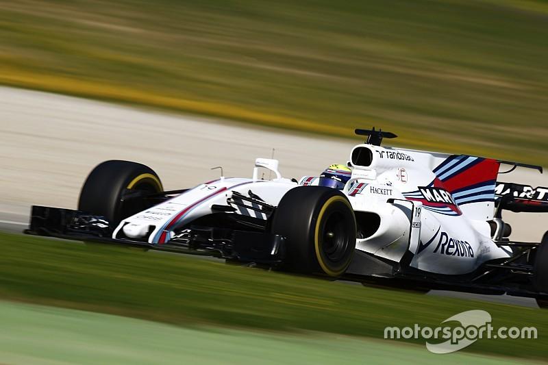 Williams - Les F1 2017 conviennent