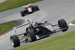 USF2000 Race report Road America USF2000: VeeKay scores second win