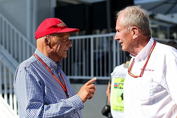 Lauda taunts Marko for rushing Verstappen's Red Bull F1 deal