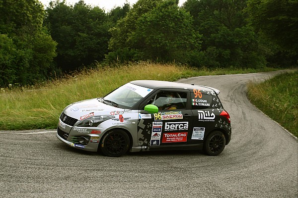 Rally Gara Suzuki Rally Cup: al Rally della Marca, la gara perfetta di Cogni