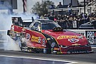 Courtney Force wins in Arizona as father John escapes explosion