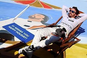 F1 Noticias Alonso se robó la atención de la carrera en Hungría