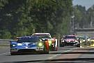 Final lap of Le Mans GTE battle