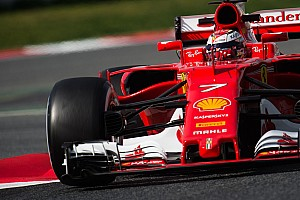 Barcelona F1 test: Raikkonen puts Ferrari on top on day two