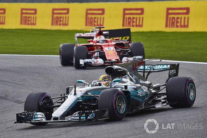 Análisis técnico: Mercedes aprovechó la oportunidad con la quema de aceite