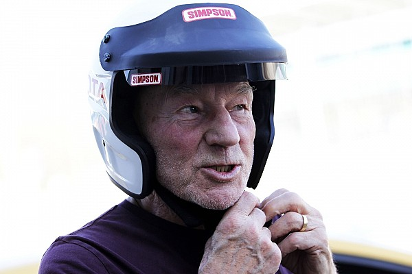 Movie star Patrick Stewart to race in Silverstone Classic