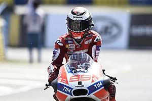 MotoGP Reactions Finis keenam, Lorenzo selamat dari situasi sulit