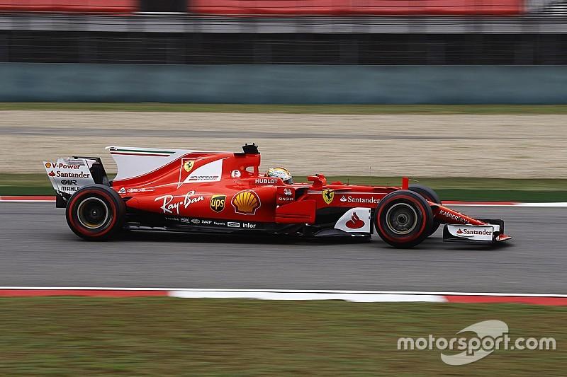 GP Tiongkok: Ferrari 1-2, Vettel tercepat di latihan terakhir