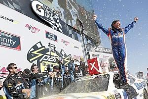 NASCAR XFINITY Race report Spencer Gallagher earns shock first win in Talladega Xfinity race