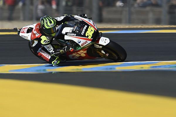 MotoGP Réactions Comment Crutchlow est passé de l'hôpital au top 10 du GP de France