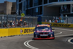 Supercars Practice report Newcastle Supercars: Whincup tops historic first session