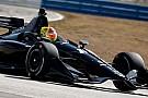 Pietro Fittipaldi comemora teste surpresa pela Indy