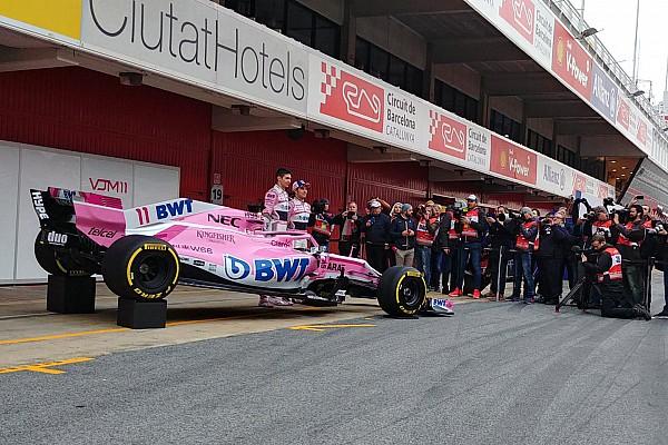 Force India последней показала машину для сезона-2018