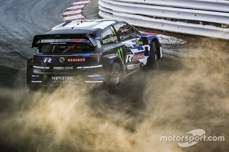 Germany World RX: Champion Kristoffersson tops Day 1