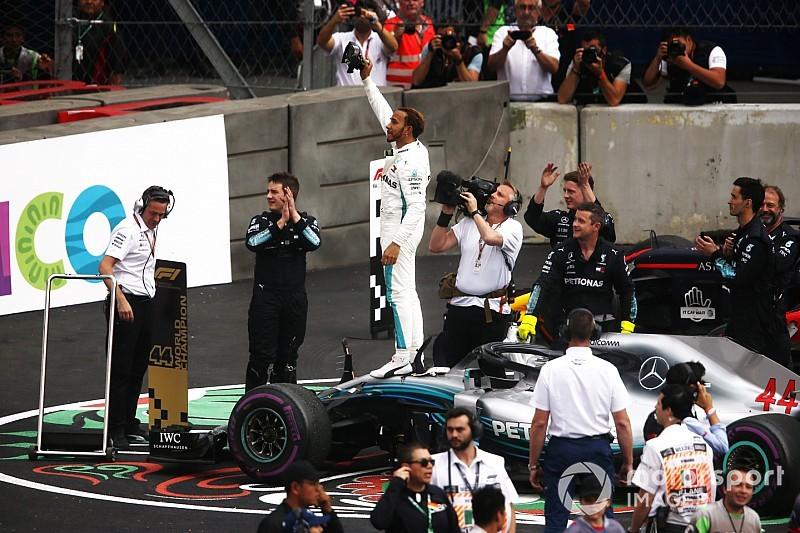 F1 mondiale piloti 2018: Hamilton festeggia la quinta corona iridata