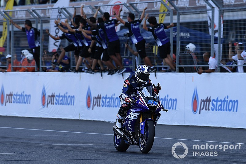 SS600 ARRC Thailand: Wilairot juara Asia, Yudhis podium