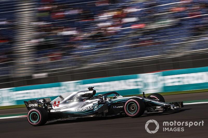 Mercedes у практиках довелося захищати двигун від перегріву