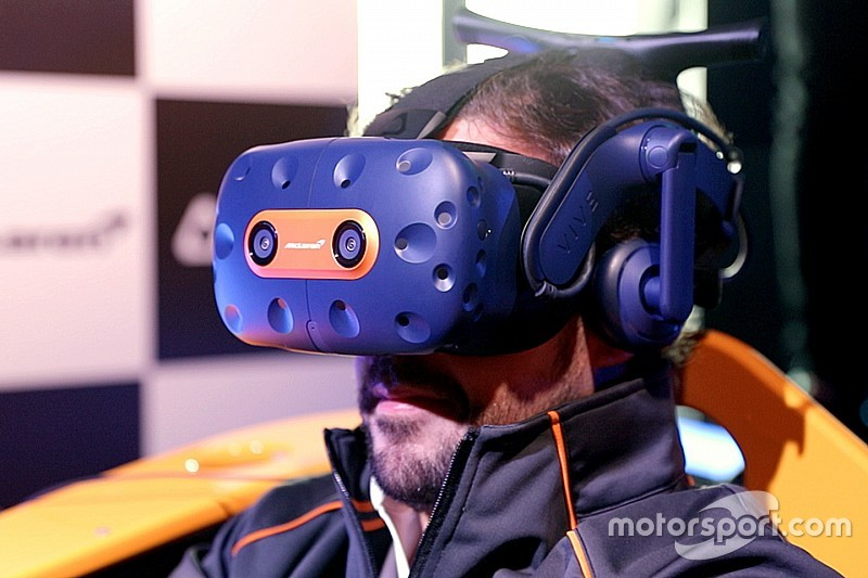 McLaren F1 team launches VR headset with games