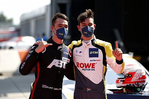 Lausitzring DTM: BMW pips Audi in Van der Linde brothers duel