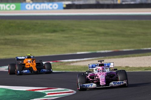Racing Point zagrożeniem dla McLarena