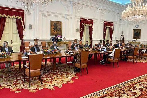 Temui Presiden, IMI Bahas soal Sirkuit Mandalika