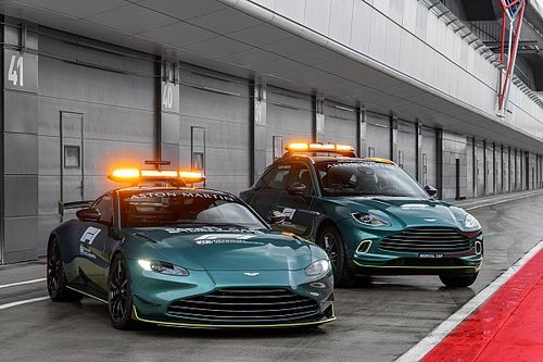 Aston Martin onthult safety en medical car