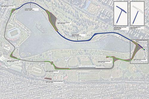Albert Park layout will change for 2021 Australian GP