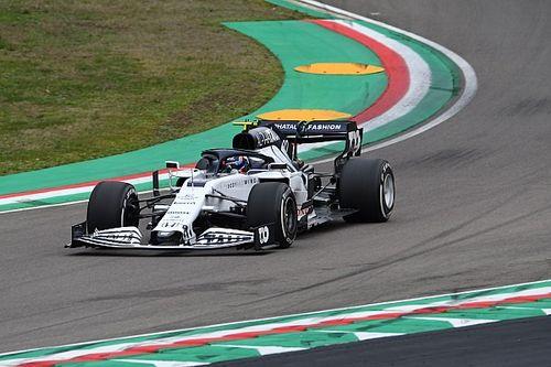 Tsunoda werkt F1-testdag af met AlphaTauri op circuit van Imola