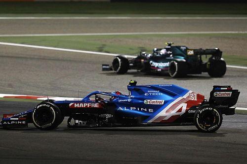 Vettel sumó 5 puntos de sanción en su estreno con Aston Martin