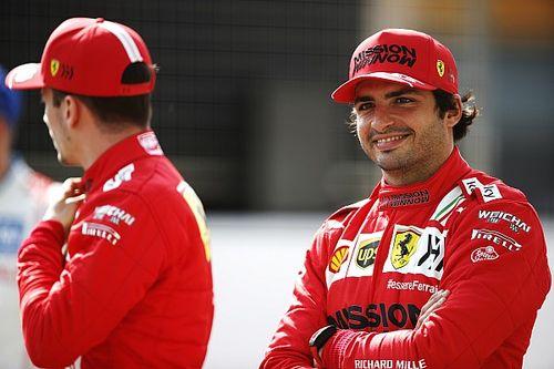 Sainz clarifies comments over five-year F1 title goal