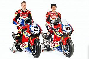 Honda présente la moto de son retour officiel en Superbike