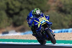 Iannone, el más rápido sobre el nuevo asfalto de Jerez