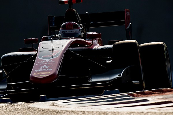 Russell, del Force India F1 a la pole de la GP3 en Abu Dhabi
