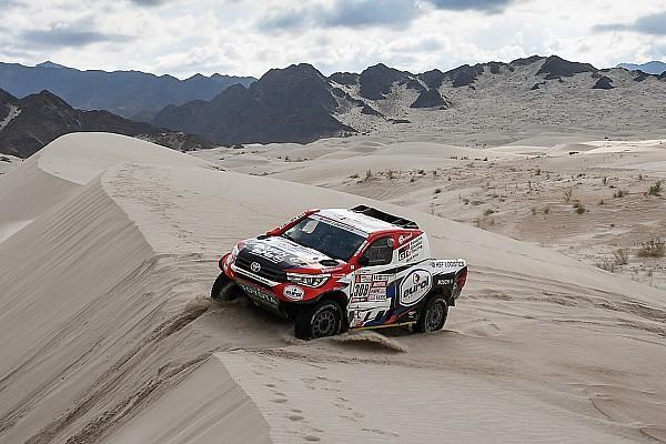 Dakar Nieuws Ten Brinke valt met motorprobleem uit in Dakar Rally