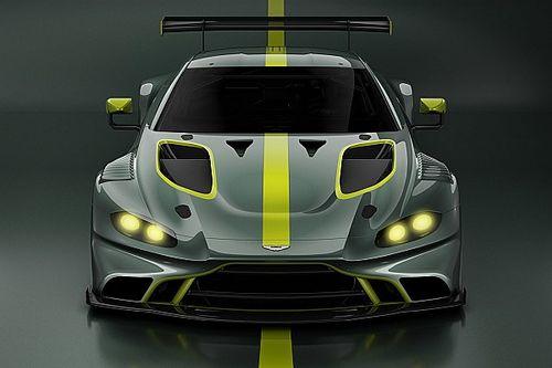 Aston Martin zeigt erstes Bild des Vantage GT3 2019