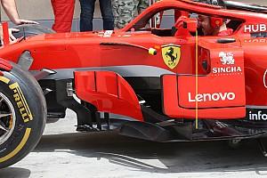 Formule 1 Analyse Technique - Ferrari a modifié ses rétroviseurs controversés