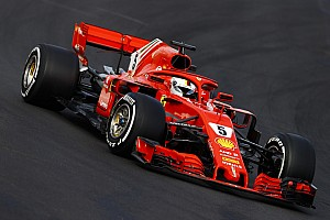 Fórmula 1 Crónica de test Ferrari mejora en el segundo día en Barcelona