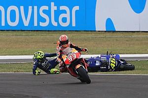 MotoGP Reaktion Meklau zum Rossi-Crash: