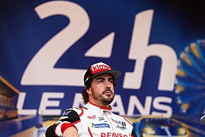24 heures du Mans Interview Alonso : Le Mans,