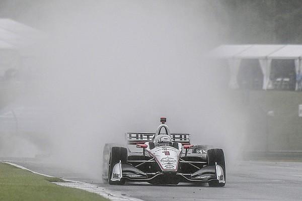 IndyCar Nieuws IndyCar-race op Barber gestaakt om regen, restant op maandag