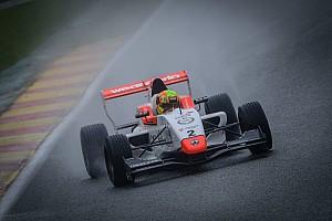 Formula Renault Race report Spa NEC: Norris controls wet Race 1