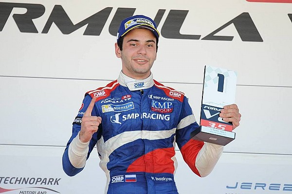 Formula V8 3.5 Jerez F3.5: Isaakyan wins as title rivals Dillmann and Deletraz collide