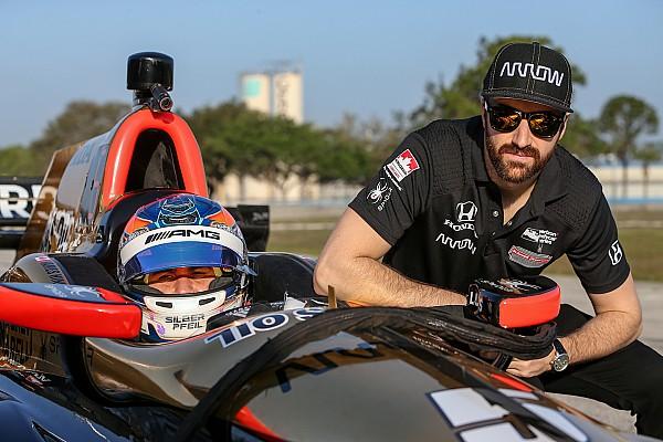 IndyCar Интервью Пилот DTM Уикенс протестировал машину IndyCar