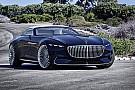 Auto Mercedes imagine le cabriolet de luxe du futur