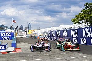 Formule E Résultats La grille de départ de l'ePrix de New York
