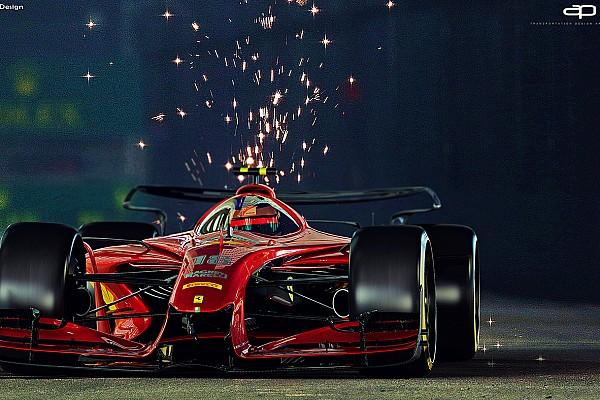 GALERÍA: coches concepto F1 2025 con pintura clásica