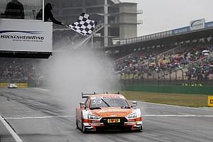 DTM Rennbericht DTM 2017 in Hockenheim: Jamie Green gewinnt turbulentes Regenrennen