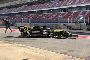 Ricciardo uji perdana Renault R.S.19 di Barcelona